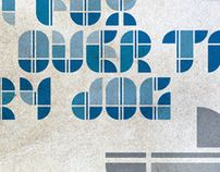 GEO_typeface by Jorrit van Rijt, via Behance