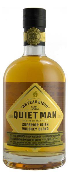 The Quiet Man Superior Irish Whiskey Blend