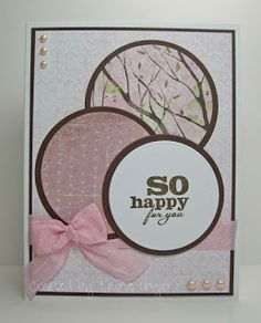 Laurie's Stampin Place: So happy for you