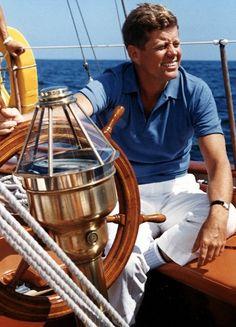 JFK sailing.