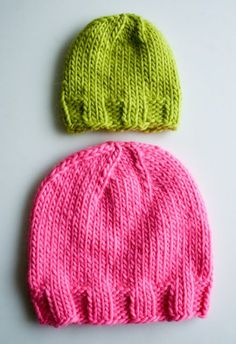 Knit Gift Ideas: 5 FREE Hat Knit Patterns For Beginners Sizes