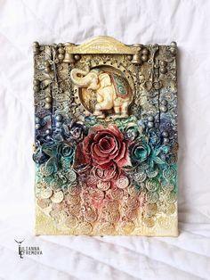 Handmade by Yulianna: Коллаж India