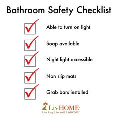 1000 images about senior safety on pinterest home for 5 bathroom safety tips