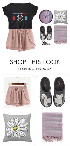 """""""chillin'"""" by eoktarinda ❤ liked on Polyvore featuring WithChic, Haflinger and Surya"""