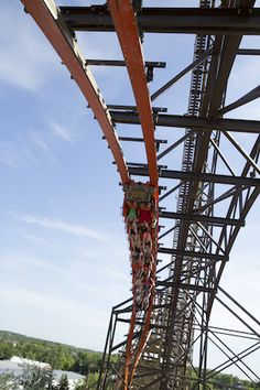When Goliath debuted to the public on June 19, 2014, it was a triple record breaking coaster. It is the fastest wooden coaster at 72 mph (tw...