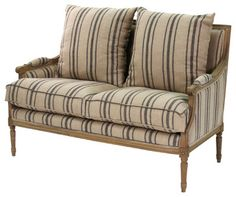 Louis Settee traditional love seats