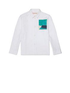Blouse in cotton Jack Davidson print