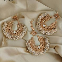 Indian Jewelry Earrings, Fancy Jewellery, Jewelry Design Earrings, Latest Jewellery, Temple Jewellery, Trendy Jewelry, Crystal Earrings, Jewelery, Fashion Jewelry