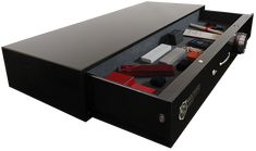 The War Dog safe is designed to fit under your bed, stacked in a closet or in the back of your truck.