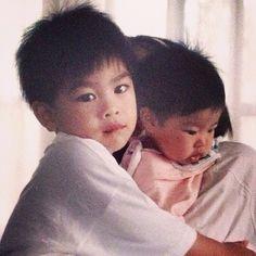 Childhood Photos, Actors, Memes, Children, Cute, Instagram, Thailand, Bb, Gold