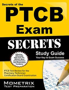 Download free Secrets of the PTCB Exam Study Guide: PTCB Test Review for the Pharmacy Technician Certification Board Examination pdf