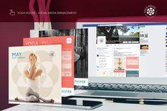 Yoga House Serenity Breathe Social Media Management #digital #o8 #Origin8Concepts #Branding