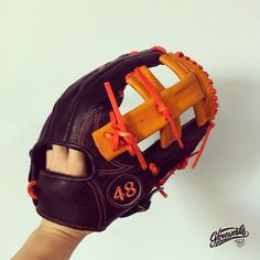 #Gloveworks custom glove - Does this glove remind of someone?   Gloveworks is your custom baseball glove maker. You design it, we make it. Bring It Home!   Visit our website to build yours: click the image!   #Gloveworks #Baseball #BaseballGlove