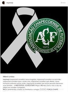 Tragédia com a Chapecoense gera comoção no futebol do Brasil e mundial – FUTEROCK