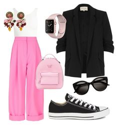 """""""Untitled #8"""" by fru316 on Polyvore featuring River Island, Sans Souci, Natasha Zinko, Converse, Versace and Dolce&Gabbana"""