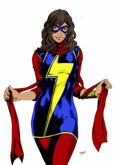 Ms. Marvel  (Kamala Khan) by LordBlacknemp.deviantart.com on @DeviantArt