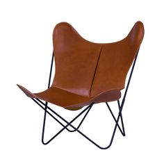 Fauteuil AA BUTTERFLY cuir - AA NEW DESIGN