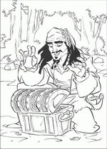 Pirates Party Coloring pages