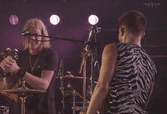 Adam Lambert & Rufus Taylor