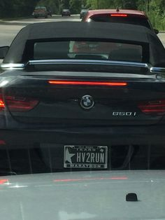 Xcuze M3 As Seen On The Vanity License Plate Picture