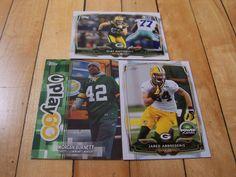JARED ABBREDERIS MORGAN BURNETT CLAY MATTHEWS 2014 Topps Green Bay Packers Lot
