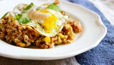 Recipe: Healthy Bulgur, with Corn, Tomatoes, and Fried Eggs   Be Well Philly