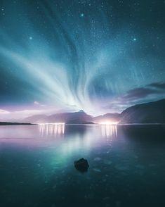 Magical Northern Lights Landscapes by Juuso Hämäläinen Beautiful Sky, Beautiful Landscapes, Beautiful World, Beautiful Places, Beautiful Pictures, 4k Photography, Landscape Photography, Photography Basics, Portrait Photography