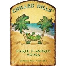 Chilled Dills Pickle Flavored Vodka (750ml)