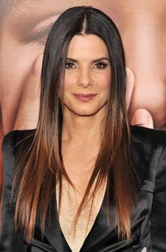 Sandra Bullock Ombre Hair 2013 love this....! This will be my next hair color!! :)