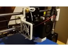 Hinge for Extruder Heatsink (Anet A8) by Kelle8 - Thingiverse
