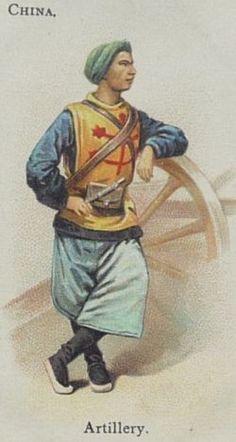 chinese boxer uniform - Google Search Military Units, Military Figures, Military Art, Military History, Military Uniforms, Military Fashion, Boxers, Mad Movies, Boxer Rebellion
