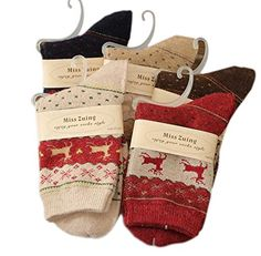 BESTSELLER! Nine States (Pack of 5) Women's Wool... $11.99