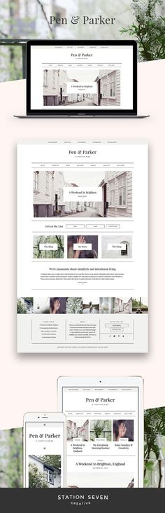 Pen and Parker Web Design | Fivestar Branding – Design and Branding Agency & Inspiration Gallery