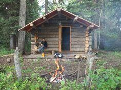 Log cabin in Alberta, Canada.Contributed by builderTravis Grauman.