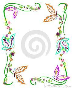 butterfly-border-37632475.jpg (368×450)