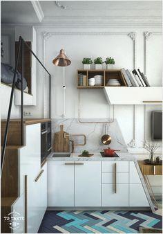 Кровать чердак в квартире студии: 4 проекта в разных стилях
