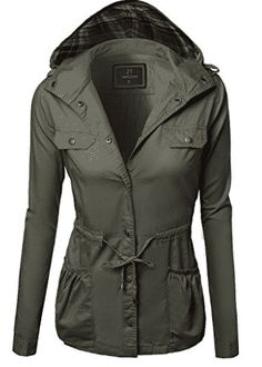 Military Jacket Parka Coat Outerwear Olive Size L Hooded Parka, Parka Coat, Parka Jackets, Hooded Coats, Best Parka, Military Parka, Jackets For Women, Casual, Clothes