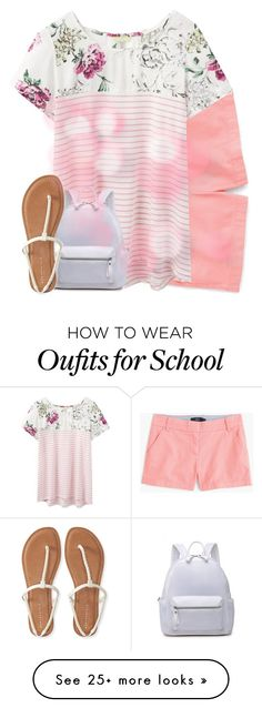 """""""School // #10 // RTD for information."""" by luluzilla676 on Polyvore featuring J.Crew, Joules, Aéropostale and luluscontest"""
