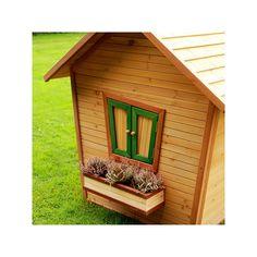 Casita de madera LULU - Casas de madera para niños - Parque De Bolas