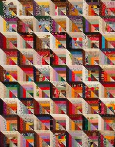 T-Perspective | by Linda Rotz Miller Quilts & Quilt Tops