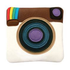 Instagram Pillow by Craftsquatch on Etsy, $32.00