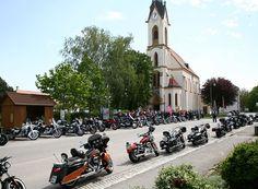 Biker, Freundlich, Kirchen, Park, Austria, Street View, Prayer, Parks