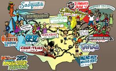 MTV Hive's 2012 Summer Music Fest Road Map