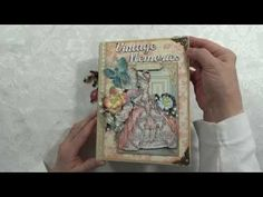 """Vintage Memories"" Graphic 45 Gilded Lily Scrapbook Photo Album - YouTube"