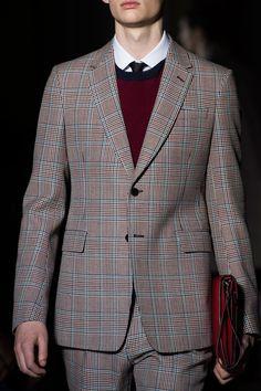 Valentino Plaid Suit | Men's Fashion & Style | Menswear | Sharp and Modern | Moda Masculina | Shop at designerclothingfans.com
