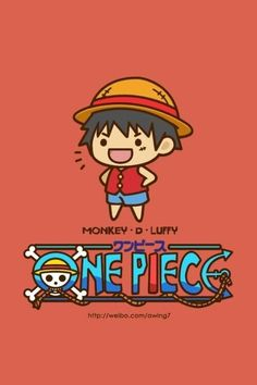 One Piece Luffy chibi
