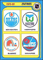 Les Nordiques de Québec - Cartes O-Pee-Chee/Topps, saison 1979-1980 for the WHA before go to the NHL.