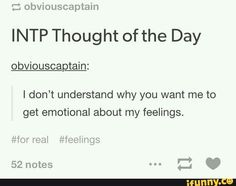intp feelings - Google Search