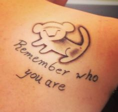 Lion King. Quote. Tattoo