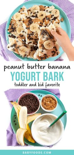 Snacks To Make, Healthy Snacks For Kids, Food To Make, Creative Snacks, Lunch Snacks, Kid Snacks, Peanut Butter Banana, Breakfast For Kids, Baby Food Recipes